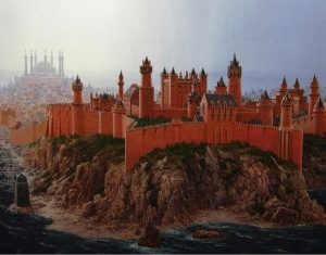 King's Landing, as depicted in The World of Ice and Fire. (