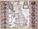 Britain As It Was Devided in the tyme of the Englishe-Saxons especially during their Heptarchy