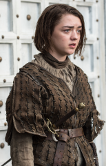 """Maisie Williams as Arya Stark in HBO's """"Game of Thrones"""""""