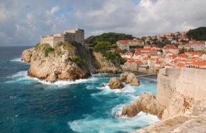 Dubrovnik, Croatia, town used as King's Landing in HBO's Game of Thrones (Wexler, 2013)