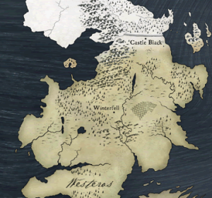 Edited Westeros Map