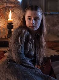 Shireen Baratheon in The Game of Thrones