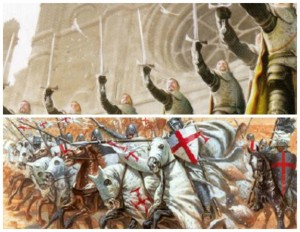 Warrior's Sons and Knights Templar