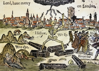 The Black Plague in London