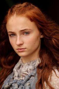 "Sophie Turner as Sansa Stark in HBO's ""Game of Thrones."""
