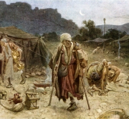 the-four-lepers-looting-the-camp-of-the-syrians-2-chronicles-20-17-by-william-brassey-hole