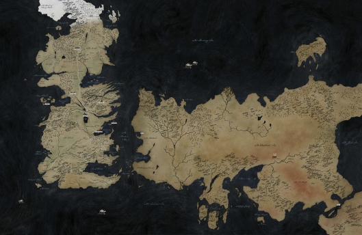 The world of Westeros and beyond