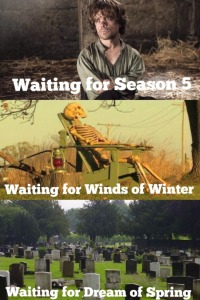Fig. 4 Waiting, Waiting, Waiting for Game of Thrones