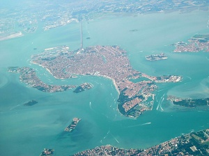 Venice from the air
