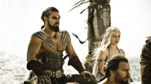 Wedding Scene of Khal Drogo and Daenerys Targaryen