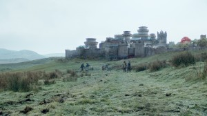 Winterfell, as depicted in HBO's Game of Thrones