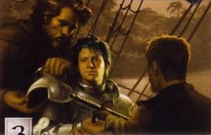 An artist's rendition of Young Griff, a.k.a. Aegon Targaryen